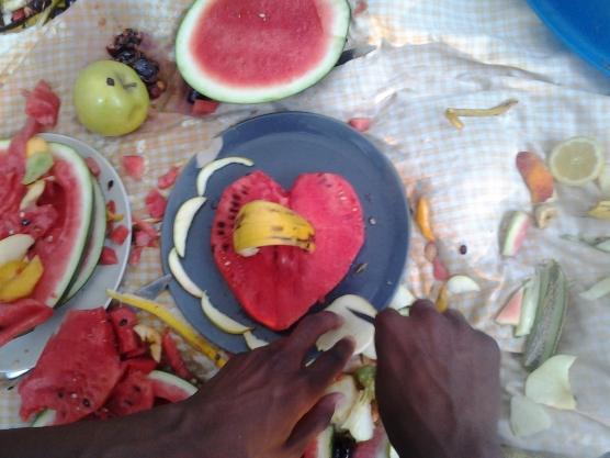 actividad disfruta la fruta